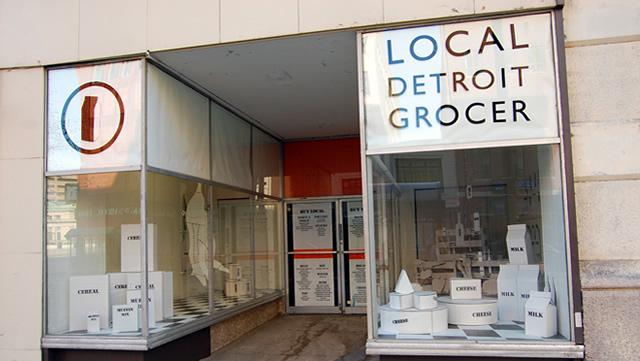 Vetrine di Detroit